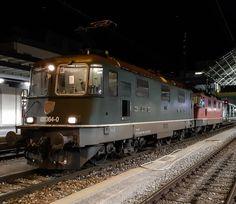 Swiss Railways, Electric Locomotive, Display Stands, Old Trains, Zug