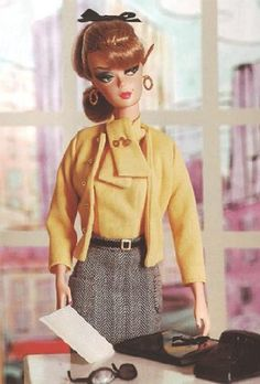 barbie at work