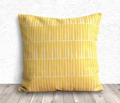 Pillow Cover, Pillow Case, Cushion Cover, Linen Pillow Cover 18x18 - Printed Geometric - 006