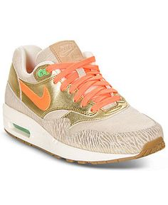 Nike Women's Shoes, Air Max 1 PRM - Sneakers - Shoes - Macy's