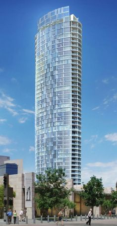 Museum Tower, Dallas designed by architect Scott Johnson of Johnson Fain Partners :: 42 floors, height 170m