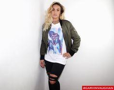 Blue light T-shirts for sale. Www.garvinvaughan.co.uk #garvinvaughan #gv #art #tshirt #fashion #streetstyle #streetfashion #instagram #instafashion #fashionblogger #fashionkilla #urban #trend #rippedjeans #bomberjacket