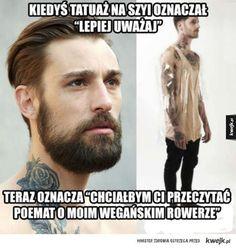 Tatuaże kiedyś i dzisiaj Funny Lyrics, Polish Memes, Make Em Laugh, Funny Memes, Hilarious, Really Funny, Haha, Humor, Tattoo