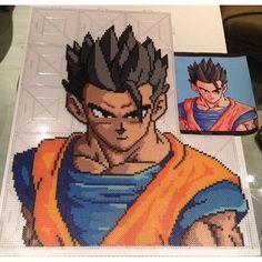 Dragon Ball perler art by  christobucks