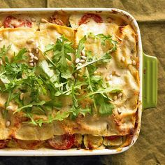 Roasted Zucchini Lasagna from the Better Homes and Gardens Must-Have Recipes App
