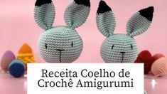 Receita Amigurumi Coelho de Crochê | Portal do Artesanato Preparado, Crochet Hats, Maya, Diy And Crafts, Rabbit Recipes, Bunny Crafts, Valentine Crafts, Rabbits, Patterns