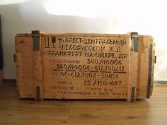 Russische houten legerkist - Creations by Corline