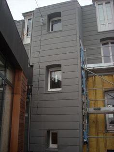 Bardage 224 Cassette Joints Creux Zinc Quartz La Maison