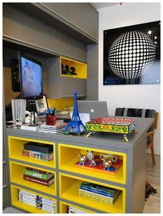 estante de nichos coloridos - Pesquisa Google