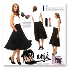 """""""Anjeclothing.com"""" by elly-852 ❤ liked on Polyvore featuring Gianvito Rossi, xO Design, Chanel, Anna-Karin Karlsson and anjeclothing"""
