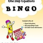 FREE - This fun activity will surely engage the whole class and is a great way to practice their skills in solving one step equations.