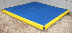 sandbox cover with weighted flaps