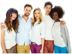 "white; group; gap; ""be bright"""