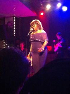 Martha Reeves at the Brudenell Social Club.