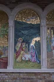 Mosaici presso la sorgente del Santuario