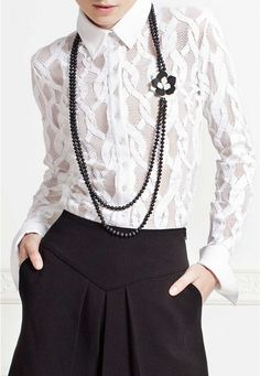 The Anne Fontaine collection features iconic white shirts, elegant dresses, and classic looks for women to wear to work - all marked by French design and European craftsmanship. Party Dress Outfits, Spring Fashion Outfits, Elegant Dresses, Daily Wear, Creations, White Blouses, White Shirts, Clothes For Women, Womens Fashion