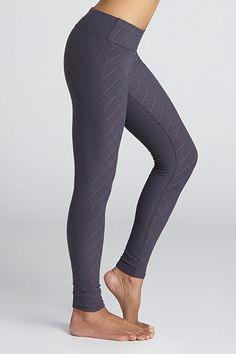 """""""This is a basic legging that you could pretty much wear for anything,"""" says Jade. Give this quilted legging a spin if your fitness routine includes kickboxing, power walking, yoga, casual biking, or personal training. Finding a matching tank will be a breeze as any top will mesh well with these."""