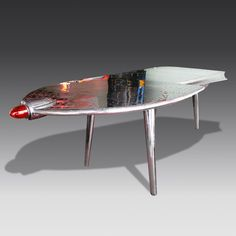 Vintage-Style Aeroplane Wing Desk from The Games Room Company's Furniture selection Vintage Coke, Vintage Style, Vintage Fashion, Luxury Gifts For Men, Coke Machine, Air Hockey, Furniture Companies, Game Room, Dining Table