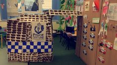 Police station role play in my classroom