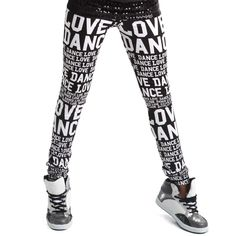 Alexandra Love Dance Leggings : AC1000