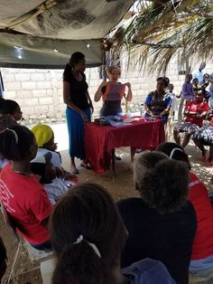 The #DaysforGirls Surprise, AZ chapter made their way to Las Aguas and, not only distributed hygiene kits, also post-partum kits!