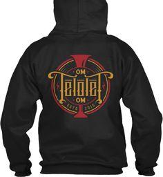 Om Telolet Om Hoodie Black Sweatshirt Back