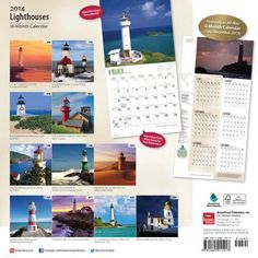 Lighthouses Calendar (Multilingual Edition)