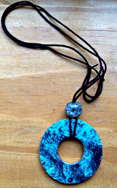 A personal favorite from my Etsy shop https://www.etsy.com/listing/467588252/adjustable-washer-pendant-necklace