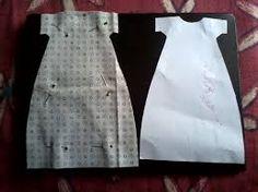 Výsledek obrázku pro molde de roupas para tildas
