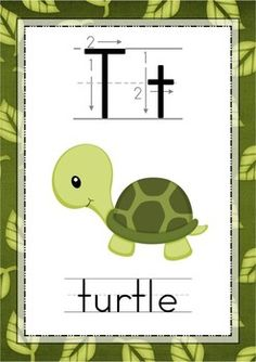 Alphabet Posters with Correct Letter Formation - Animals {FREE}