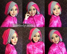 Dueto Hijab Tutorial Menggunakan Inner Tyrius by Savanna Mecca