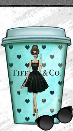 Tiffany and Coffee - Agenda - - Tiffany and Coffee – Agenda – - Tiffany And Co, Tiffany Blue, Image Deco, Illustration Blume, Megan Hess Illustration, Posters Vintage, Foto Fashion, Fashion Wall Art, Fashion Prints