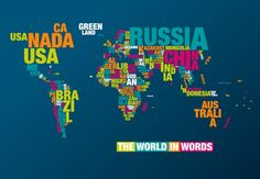 The world in words.