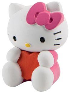 Hello Kitty 3D Schlüsselanhänger Valentine Spielwaren Movie & TV…