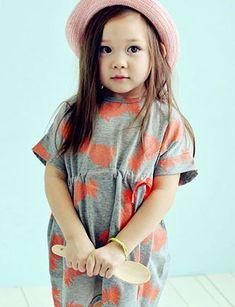 ae-hemアロハワンピース - 韓国子供服tsubomi かわいい輸入服のセレクトショップ
