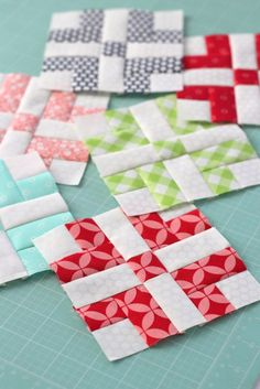 Fabric Ideas Learn New Quilting Techniques - Learn new quilting techniques in the new book Quilting Row by Row: 27 Skill-building techniques by Jeanette White and Erin Hamilton. Plus 2018 Sew Along. Quilting For Beginners, Quilting Tutorials, Quilting Projects, Quilting Designs, Sewing Projects, Sewing Tips, Quilting Ideas, Sewing Tutorials, Small Quilts