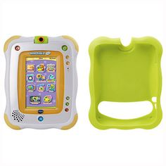 VTECH InnoTab 2 Baby Why we love InnoTab Baby 1. Built-in rotating camera 2. 12cm colour touch screen 3. 16 apps and 3 age appropriate games 4. Features e-reader, art studio, mp3 player and photo editor 5. Comes with a pr http://www.comparestoreprices.co.uk/educational-toys/vtech-innotab-2-baby.asp
