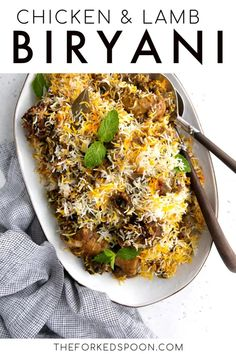 7 reviews · 2.5 hours · Gluten free · Serves 8 · Traditionally this recipe would have been made with mutton. Unfortunately, mutton was nowhere to be found here in central California, so I substituted with chicken and lamb. Feel free to include your… More Veggie Recipes, Indian Food Recipes, Cooking Recipes, Ethnic Recipes, Lamb Recipes, Veggie Food, Side Dish Recipes, Rice Recipes, Cooking Tips
