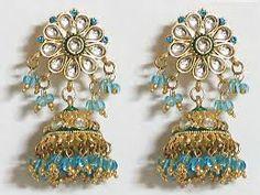 Resultado de imagen para jhumka earrings