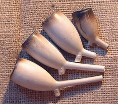 DUTCH CLAY TOBACCO PIPES by Heather Coleman