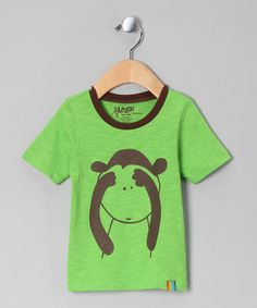 Take a look at this Green Monkey Tee - Infant & Toddler on zulily today!