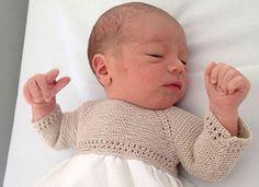 remate para prendas de bebé calado