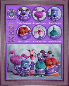 "Slugma Slugma Kappa | The Fraternities And Sororities Of ""Monsters University"""