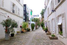 Belleville Paris, Paris Secret, Villa, Grand Paris, Alleyway, Paris France, Rues, Bike Storage, Places