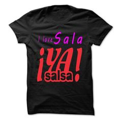 Cool i love salsa T-Shirts