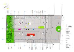 Protótipo Bioclimático de Edifício Jardim,Planta Pavimento Térreo