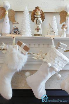 Angels Christmas Mantel