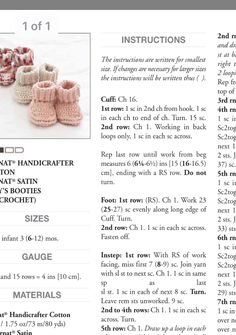 Knit Slippers Free Pattern, Baby Cardigan Knitting Pattern Free, Baby Booties Free Pattern, Baby Boy Knitting Patterns, Baby Sweater Patterns, Crochet Baby Cardigan, Baby Hats Knitting, Crochet Baby Clothes, Crochet Baby Shoes