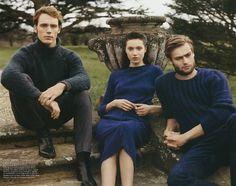 Scott Trindle shoots The Riot Club boys for Vogue UK.
