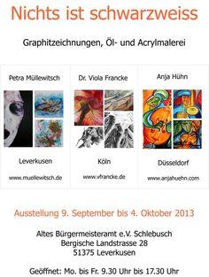 Ausstellung 9.Sep. bis 4. Okt. 2013